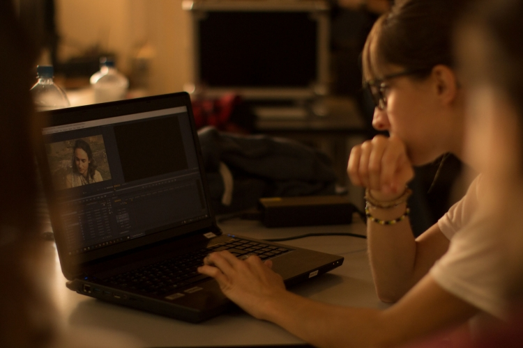 Laptop Filmschnitt